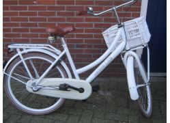 Cortina transport meisjes 24 inch   wit 3v